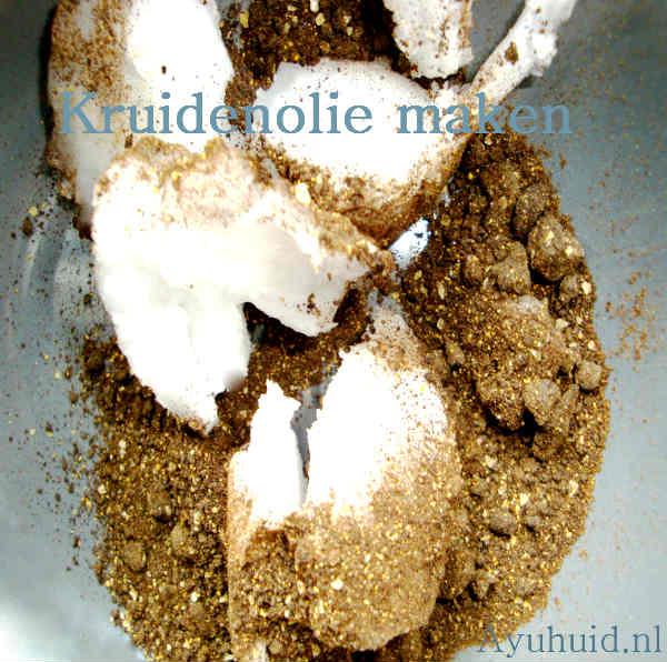 Ayurvedische kruidenolie maken