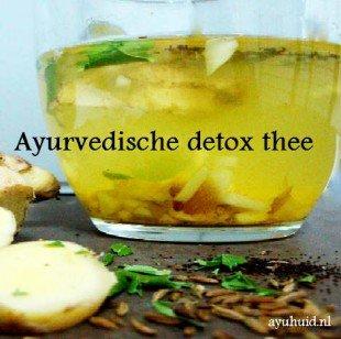 Ayurvedische detox thee