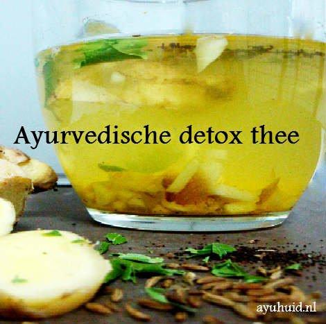 detoxen met thee