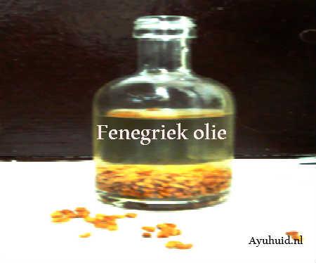 Fenegriek olie zelf maken