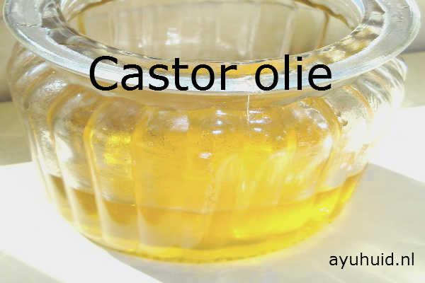 castor olie of wonderolie stimuleert de hargroei