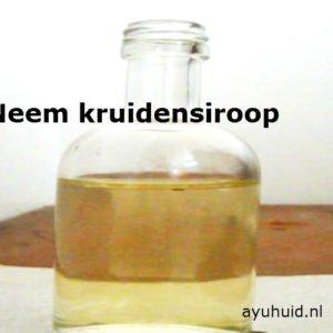 Neem-kruidensiroop-zelf-maken