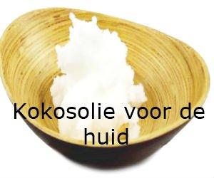 Kokosolie huid