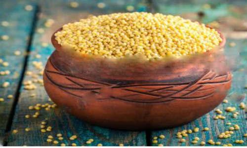 Kapha ontbijt recept kurkuma gierst