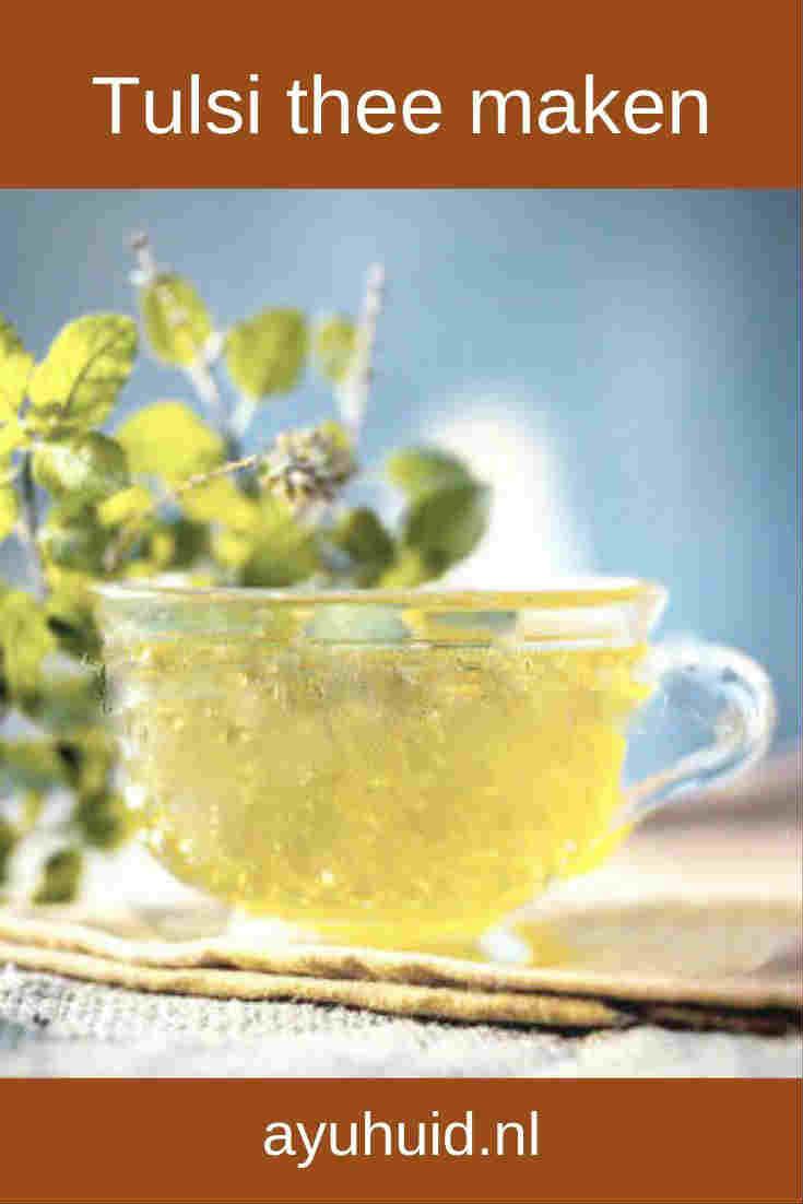 Tulsi thee maken